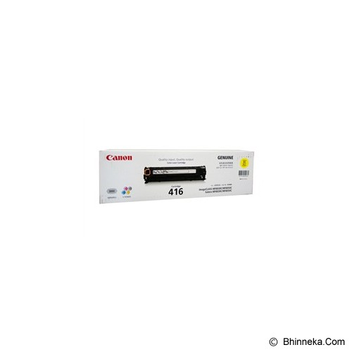 CANON Yellow Toner [416] - Toner Printer Canon
